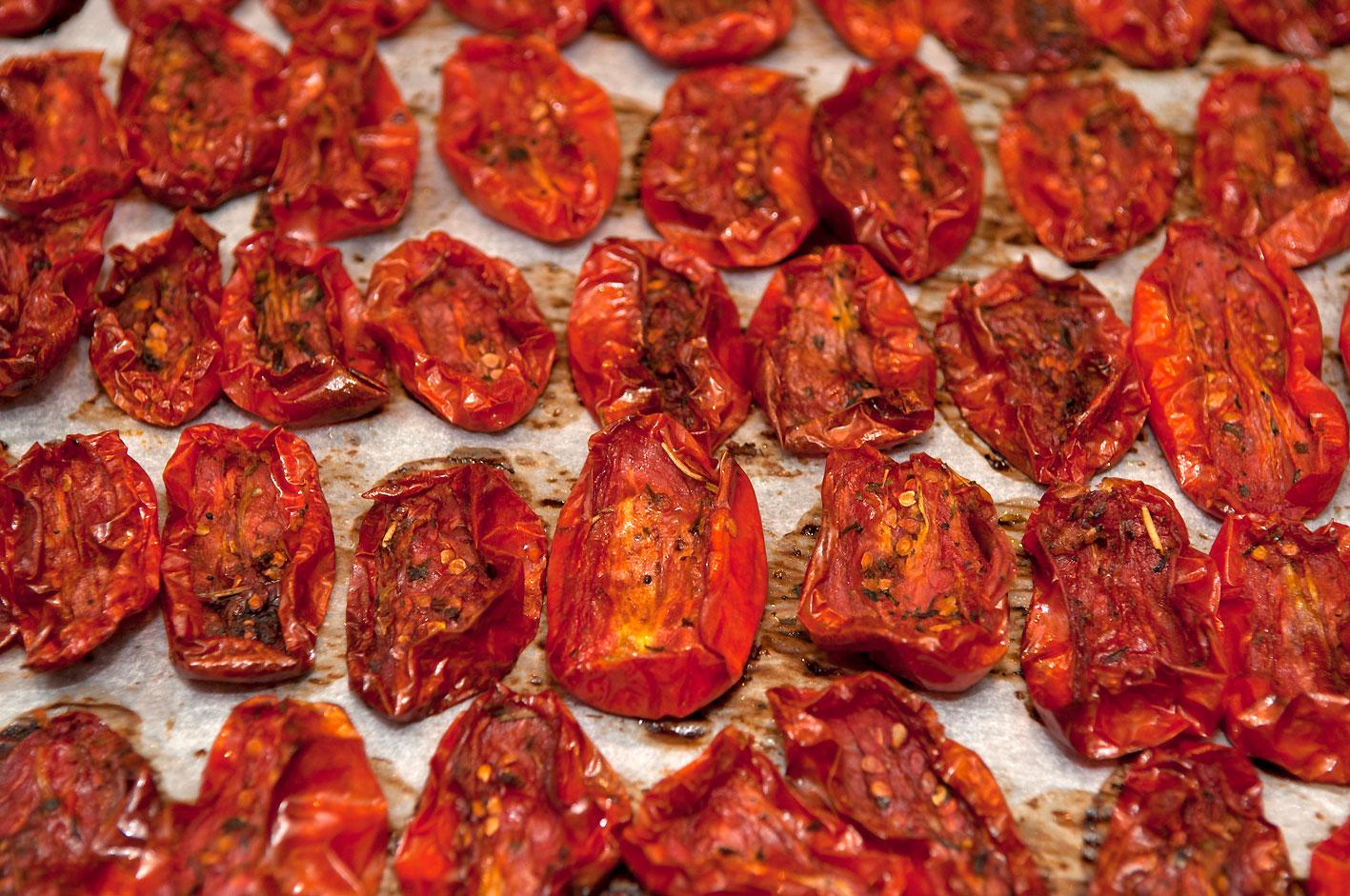 Как приготовить вяленые помидоры в домашних условиях в сушилке 152