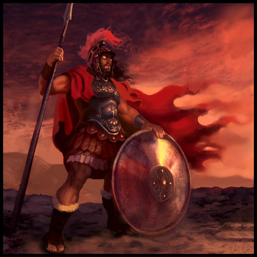 Древнегреческий бог войны марс