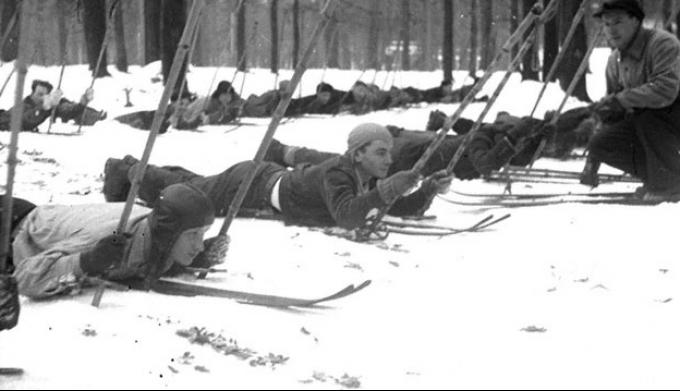 Спорт в период 1941 - 1945 гг.