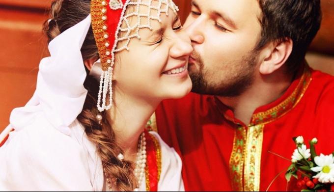 Традиционная свадьба у славян