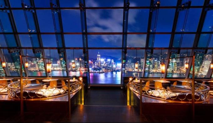 Лучшие бары Гонконга с панорамным видом
