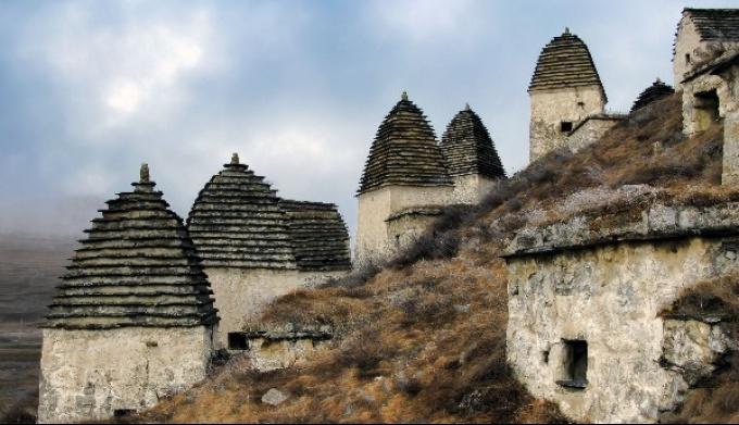 Даргавсский «Город мёртвых»